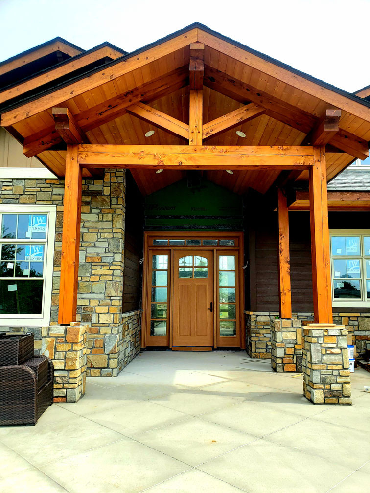 Mountain Retreat Front Porch