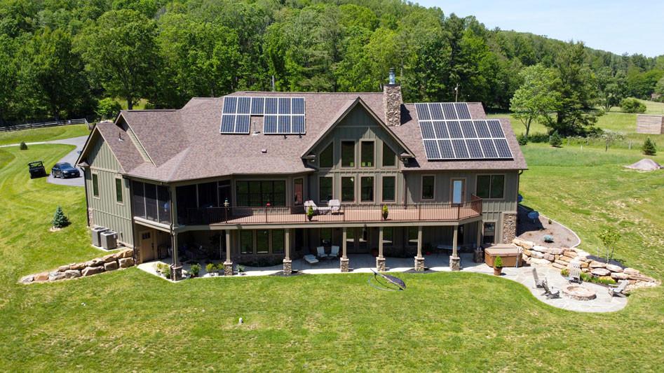 Solar Install Bent Mountain