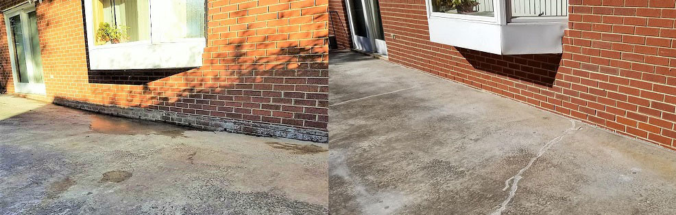 Before & After Concrete Leveling
