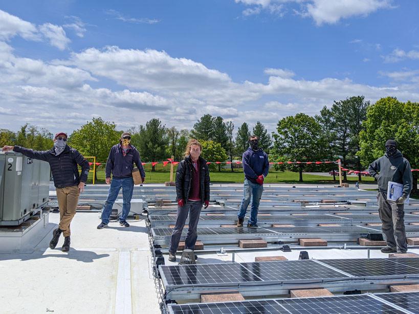 Solar Install Crew at Mountain Precision Tool