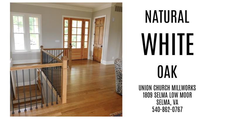 Natural White Oak