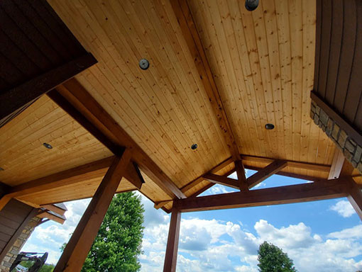 Mountain Home Retreat Timber Frame