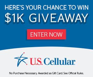 US Cellular $1K Giveaway