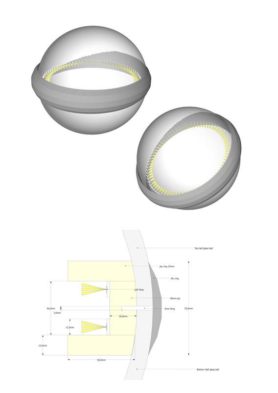 DOM LED Ring light plans