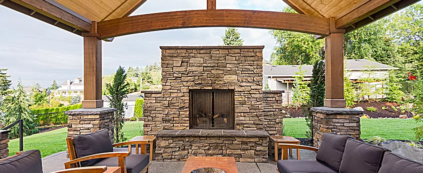 Outdoor Fireplaces & Fire Pit San Antonio TX | Freedom ...