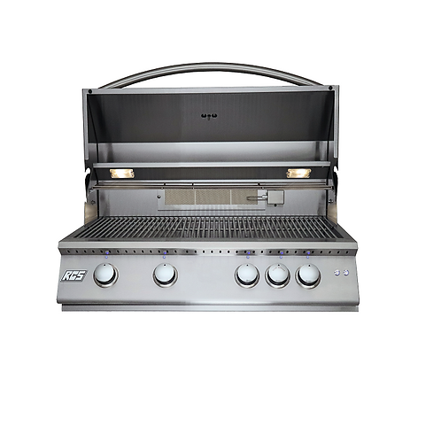 "PREMIER 32"" GRILL W/BLUE LED LIGHTS Item: RJC32AL"