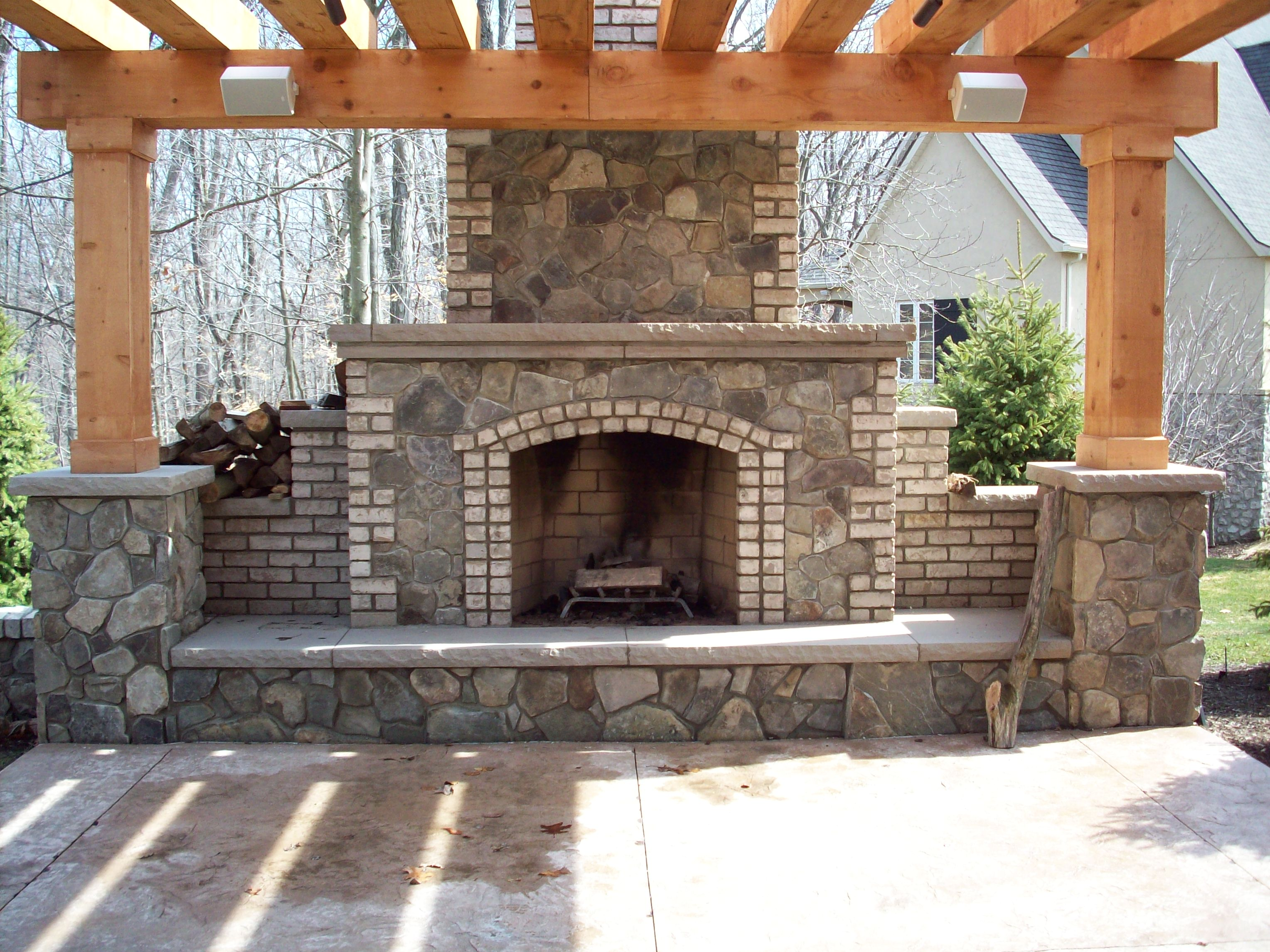 Outdoor Fireplace Fire Pits Freedom Outdoor Living San Antonio