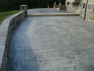 Stamped Concrete San Antonio Texas Freedom Outdoor Living