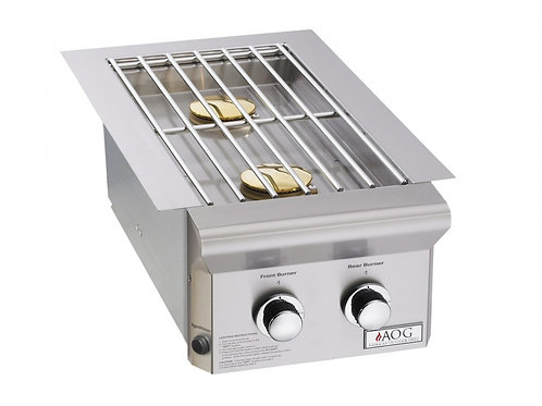 "BUILT-IN DOUBLE SIDE BURNER (""L"" SERIES) Item: AOG3282L"