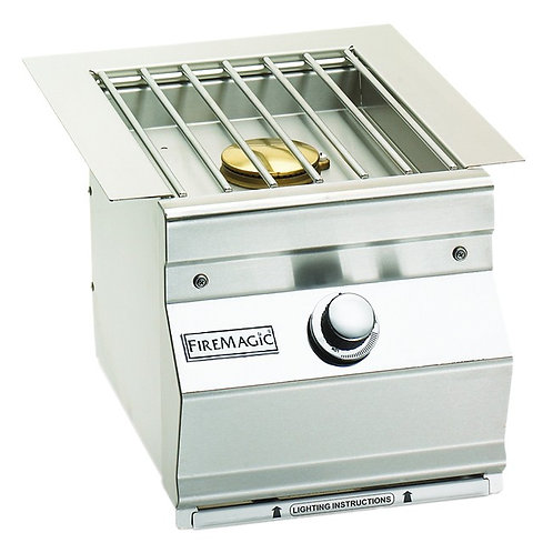 FM SINGLE SIDE BURNER SLIDE-IN SS GRID Item: FM32791