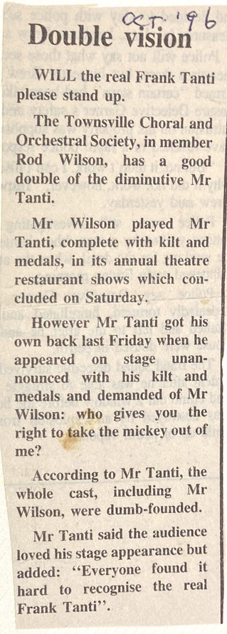 1996 Theatre Restaurant Frank Tanti stor