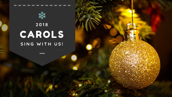 Join us singing Christmas Carols