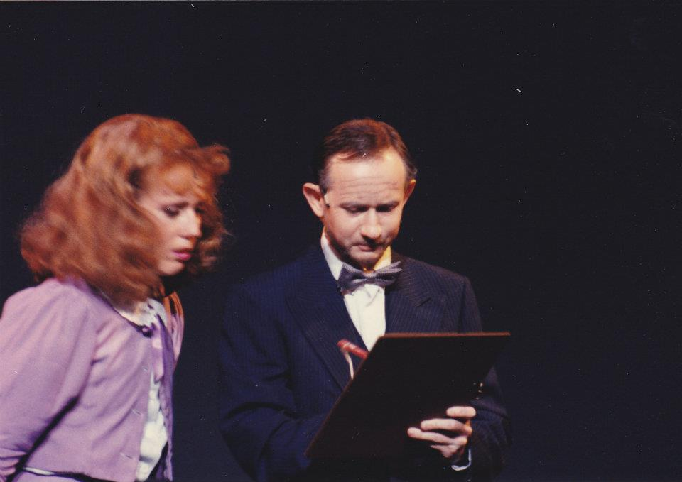 Katrina Sayce as Peggy and Richard Price as Pat