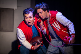 Adam Pether as Ram and Mark Whittaker as