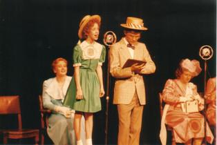 Rachel Cairns as Grace, Greta Sheriff as Annie, Adrian Corbett as Burt and Roslyn Johnson