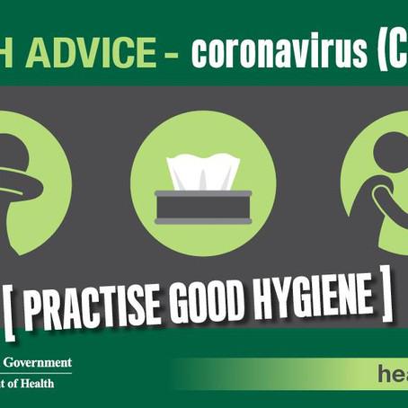 Health Alert - Coronavirus (COVID-19)