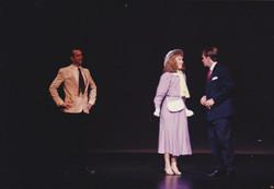 Terry Matheson as Andy, Katrina Sayce as Peggy and Martin Allen as Julian
