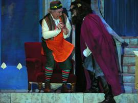 Tony McDermott as Maurice and David Khoory as Beast