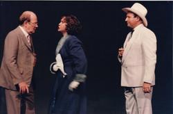 Mervyn Smith as Bert, Julie Adamson as Dorothy and Rob Vella as Abner