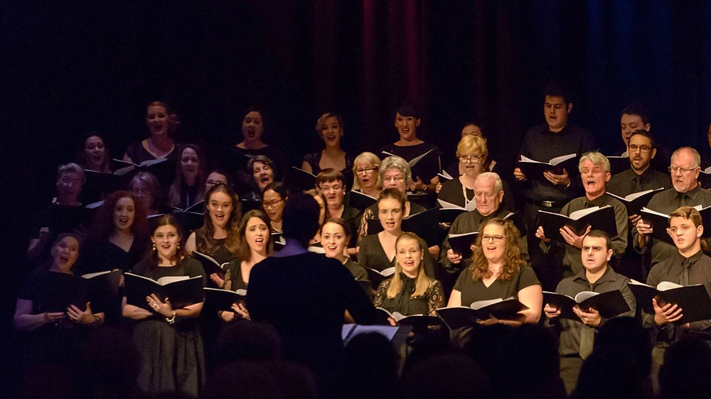 Townsville Choral Society Choir, Image Chrissy Maguire