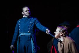 Rob Onslow as Javert and Alex Thomas as