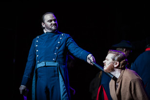 Rob Onslow as Javert and Alex Thomas as