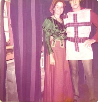 Vagabond King 1973_Lynne Burrows and Ber