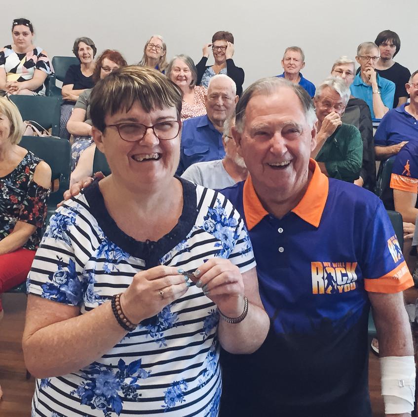 Karen Pease - 40 years membership
