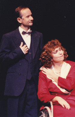 Richard Price as Pat and Julie Adamson as Dorothy