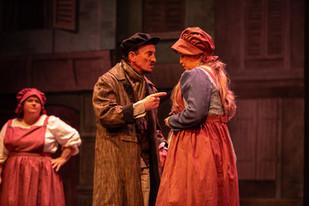 Matthew Palmer as the Foreman and Jasmin
