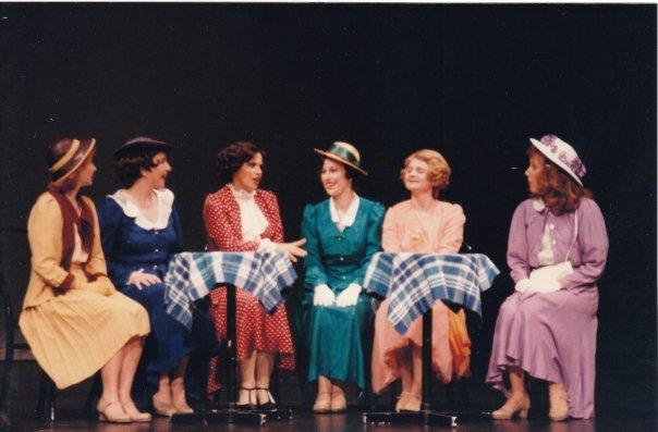 Tiffany Hamilton as Phyllis, Denise McBride as Lorraine, Victoria Kersh as Maggie, Fiona Hinds as Gl