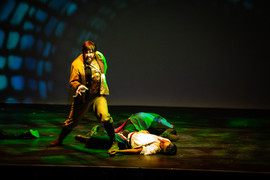 The Sewer - Nick Christie as Thenardier.