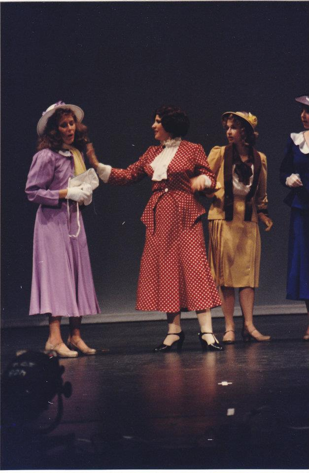Katrina Sayce as Peggy, Victoria Kersh as Maggie and Tiffany Hamilton as Phyllis