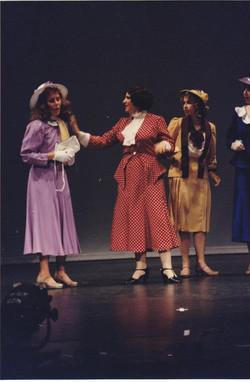 Katrina Sayce as Peggy, Victoria Kersh as Maggie and Tiffany Hamilton as Phyllis