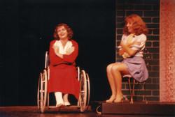 Julie Adamson as Dorothy and Katrina Sayce as Peggy