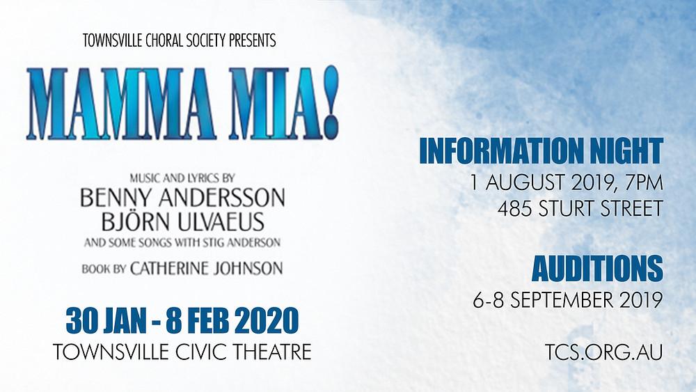 Mamma Mia Information Night