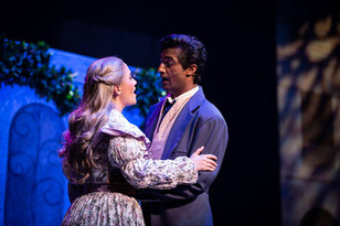Sophie Ricca as Cosette and Harshil Pill
