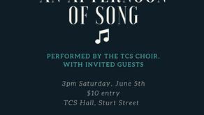 TCS choir in concert!