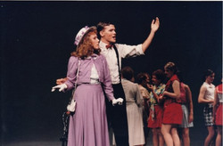 Katrina Sayce as Peggy and Adrian Corbett as Billy