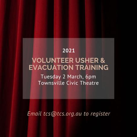 2021 Civic Theatre Volunteer Usher Training