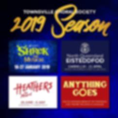 2019 Season Announcement with cancellati