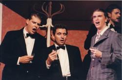 Andrew Bobeldyk, Ian Johnson and Matthew Neal