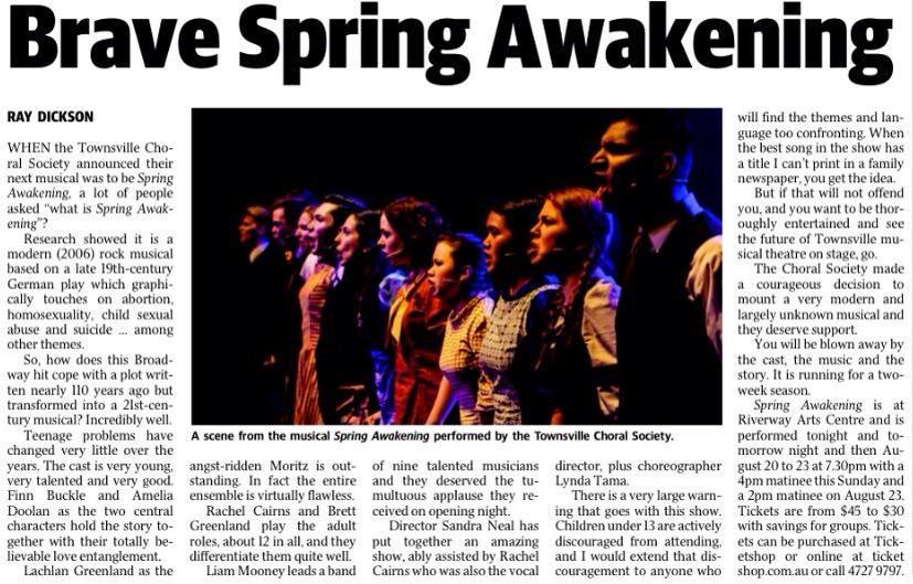 Spring Awakening Review