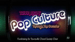 Fundraising Trivia Night - Pop Culture Through The Decades