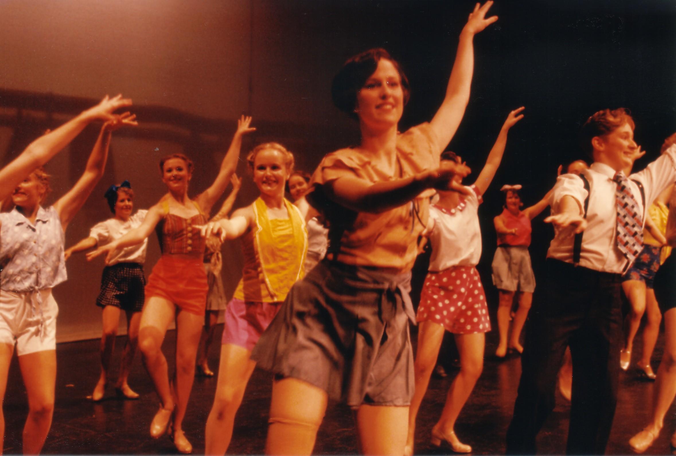 Dancers of 42nd Street