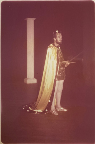 Camelot 1972_Eddie Learner as King Arthu