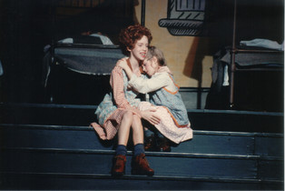 Greta Sheriff as Annie and Harriet Dyer as Mollie