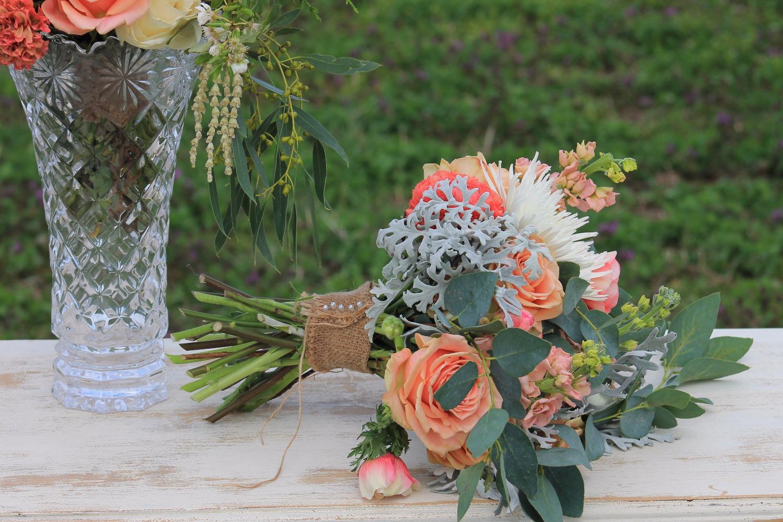 Rustic Peach Bouquet