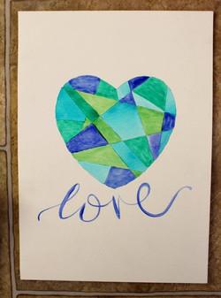 Green geo love