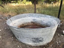 tin tub $10